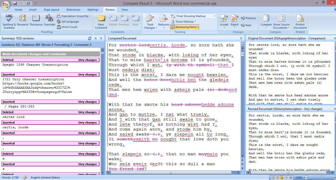 comparison text Compare text in documents across different formats (pdf, word, image) find  differences in text between two document versions with abbyy finereader ocr.